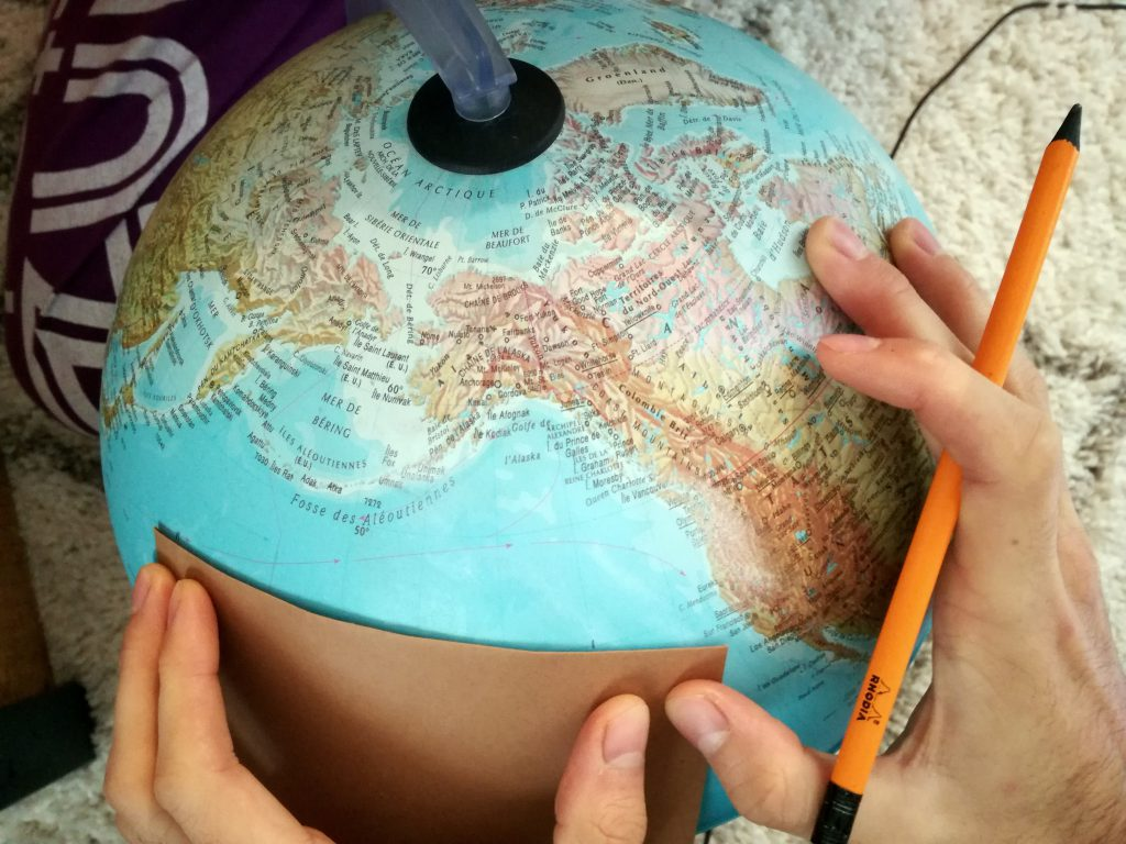 Créer une urne sur le thème du voyage