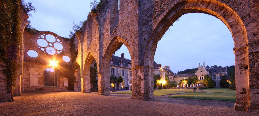 Notre recherche de salle pour le mariage : l'abbaye de Cernay