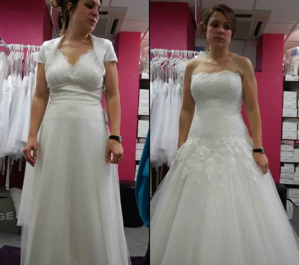 Mes essais de robes pour établir un cahier des charges