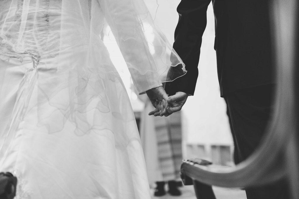 Le détail de ma cérémonie à l'église // Photo : Castille Alma et David Pommier