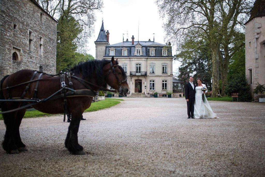 Trajet en calèche // Photo : Castille Alma et David Pommier