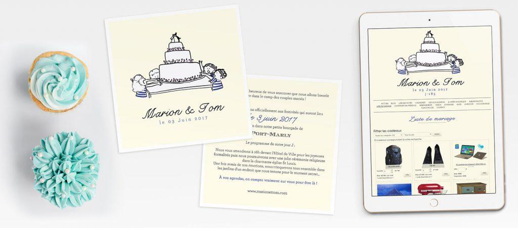 Gagne tes faire-part sur mesure et le design de ton site de mariage avec Petit Mariage entre Amis : les résultats du concours