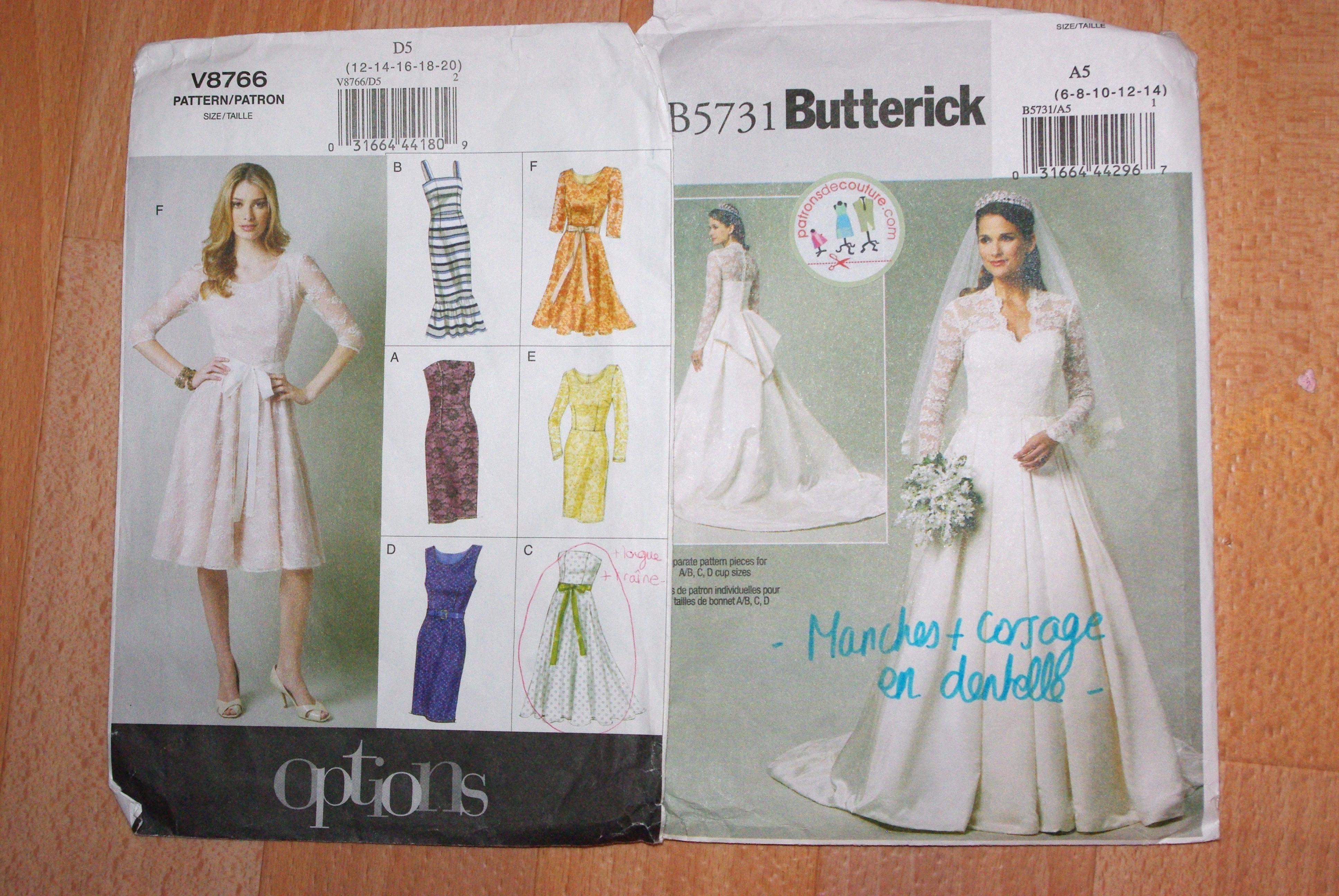 Coudre ma robe de mariée : du fantasme à la réalité