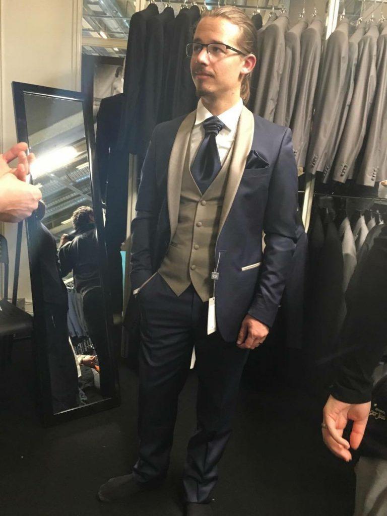 Quel costume pour le marié ?