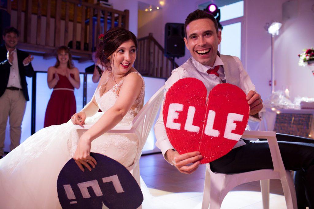 Les jeux du mariage : le elle ou lui