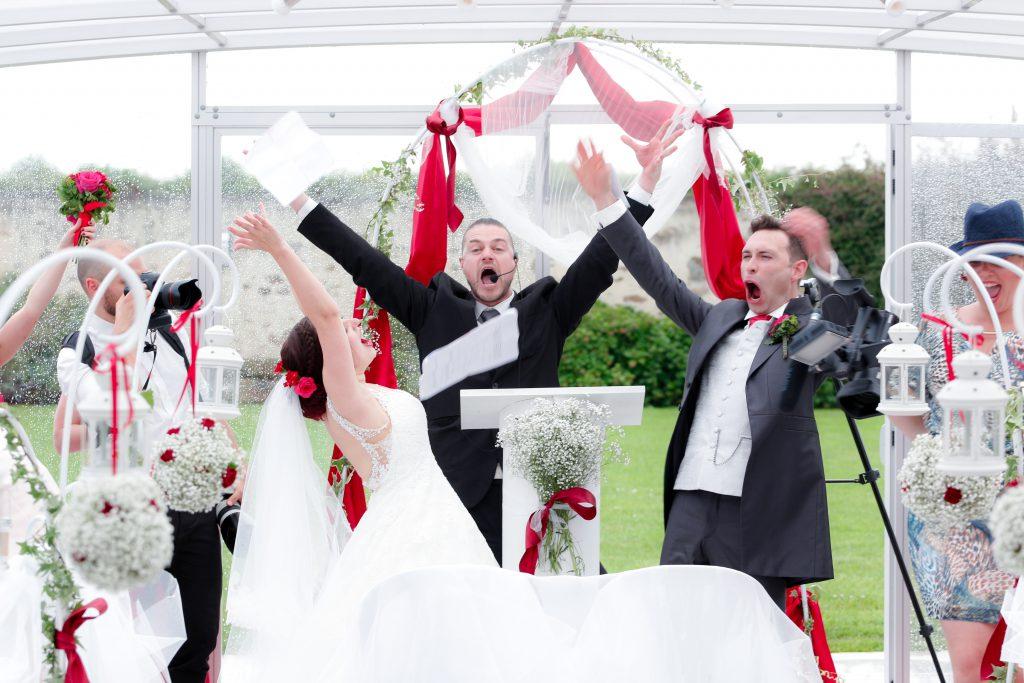 Déroulé de notre cérémonie, entre rires, pleurs et émotions // Photo : Christophe Lichtenstein
