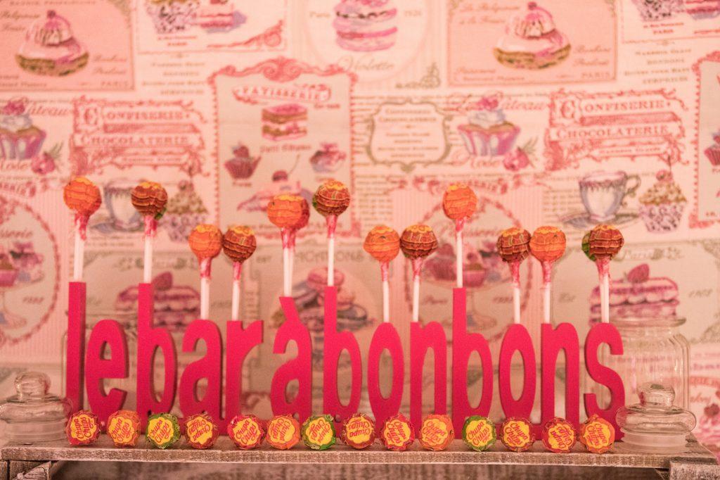 DIY candy bar // Photo : Vincent Besson