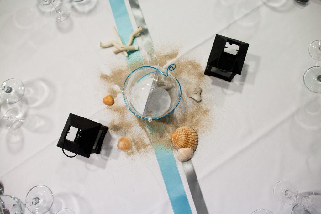 Mon mariage aux notes de turquoise : J-1, la décoration du lieu de réception