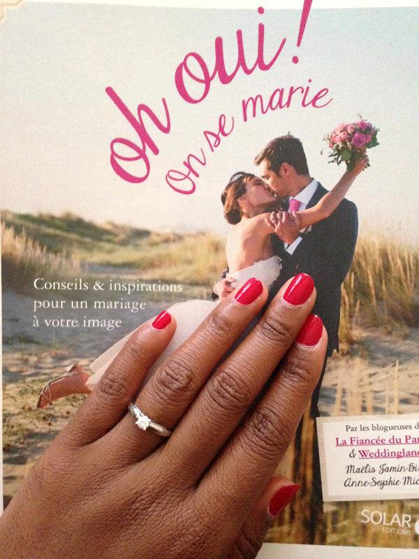 Le mariage mint et funky de Clémentine