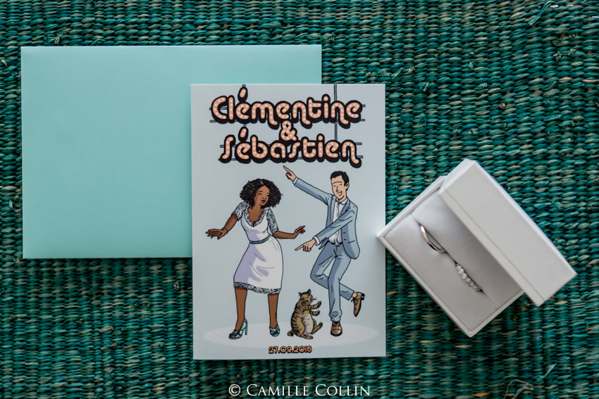 Le mariage mint et funky de Clémentine : l'organisation et les préparatifs
