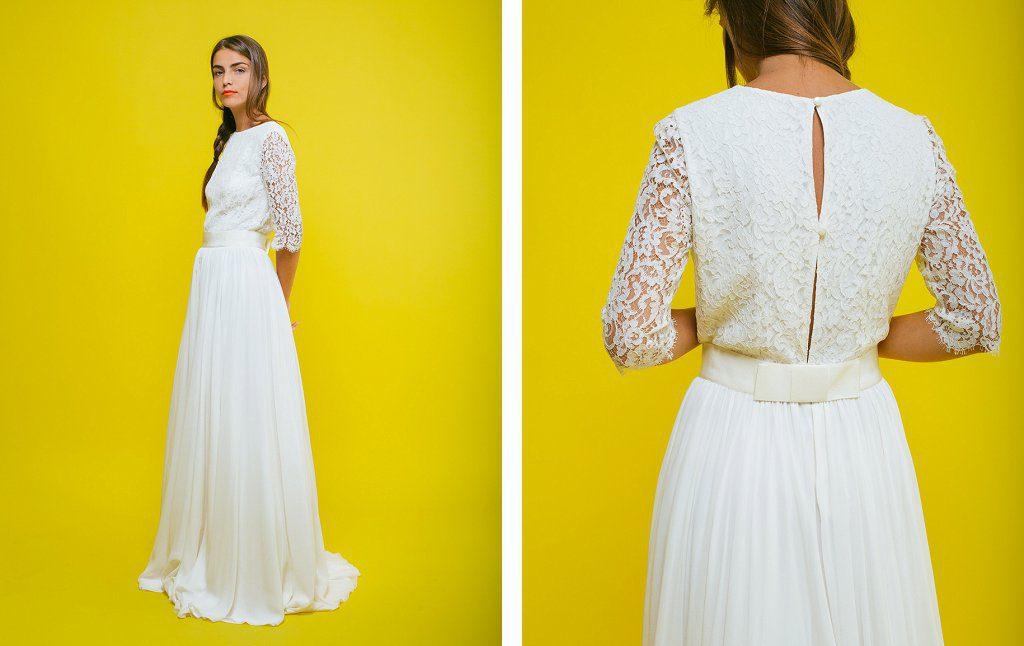 Recherche robe de mariée dentelle