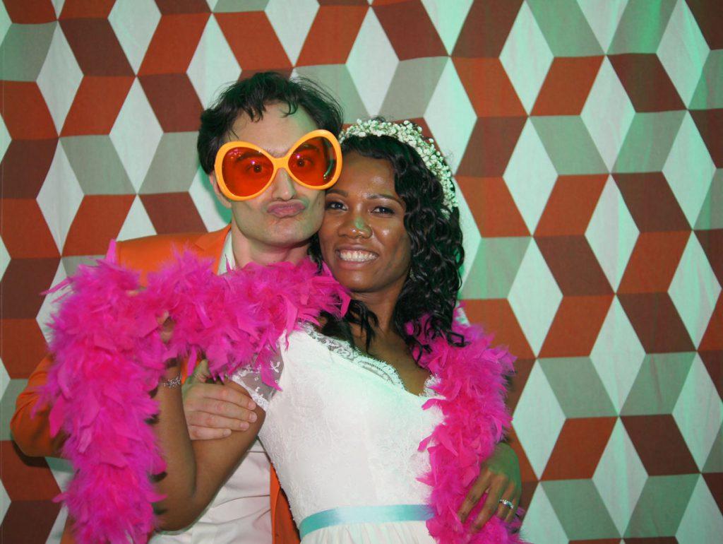 Le mariage mint et funky de Clémentine : le repas et la soirée