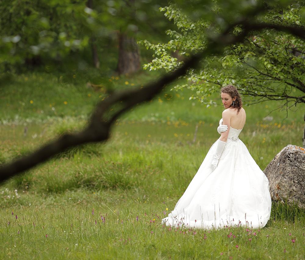 Le jour J, ma robe et moi !