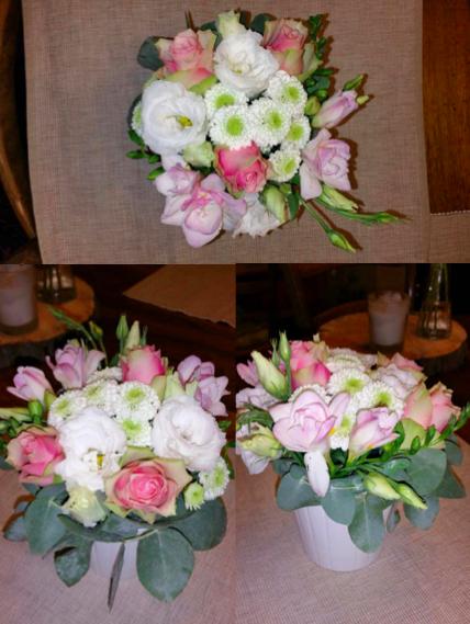 Essais composition florale