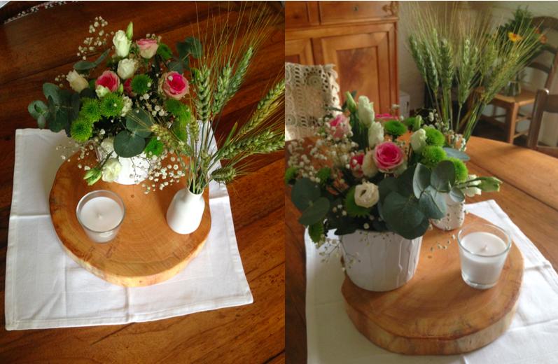 Essais compositions florales