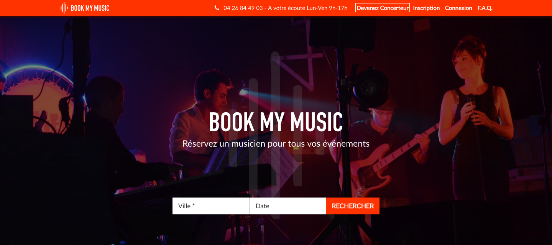 Book My Music