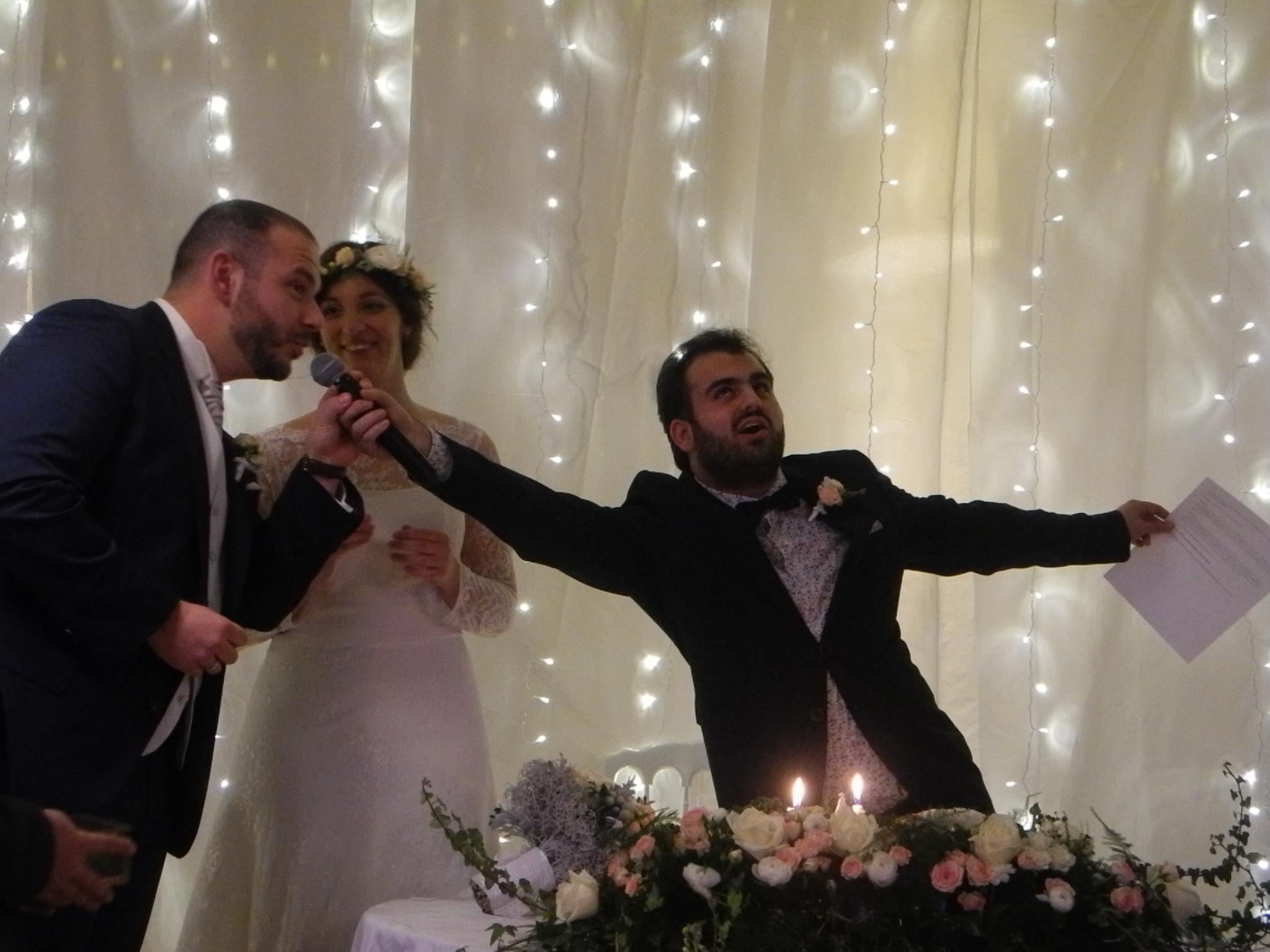 Mon mariage d'hiver à la lueur des bougies : notre cérémonie laïque – Partie 2