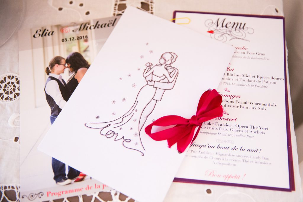 Papeterie de mariage // Photo : Vincent Besson