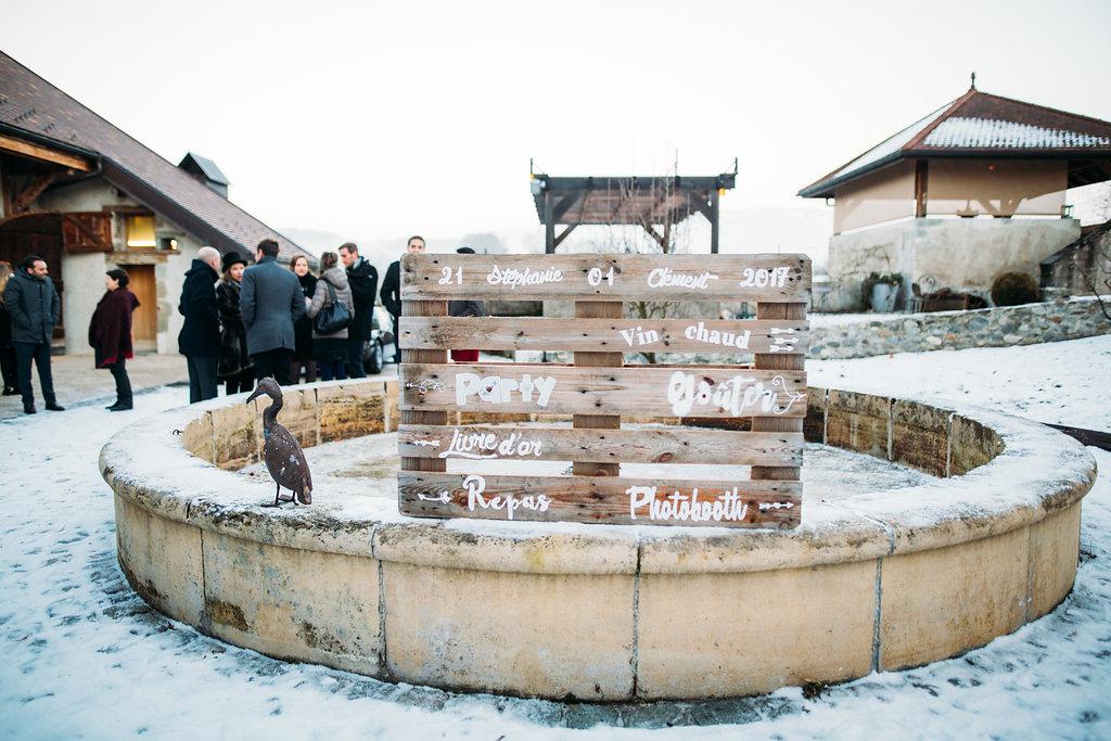 Mon mariage d'hiver presque-à-la-montagne : mettons la main à la pâte ! – Partie 2