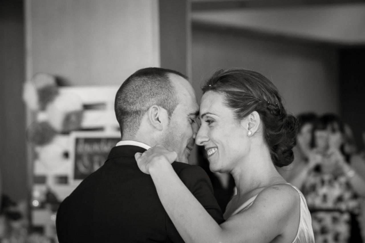 Mon mariage en gris et vert : l'ouverture du bal