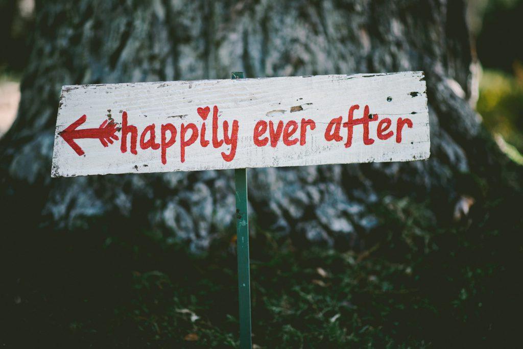 Pancarte bonheur