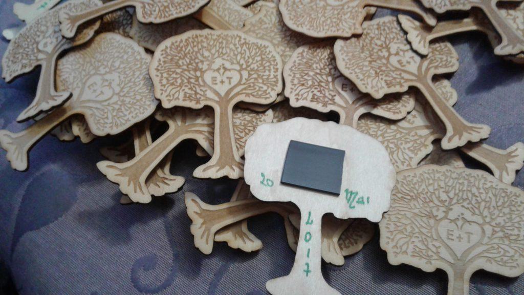magnets et bougies pour nos cadeaux d 39 invit s mademoiselle dentelle. Black Bedroom Furniture Sets. Home Design Ideas