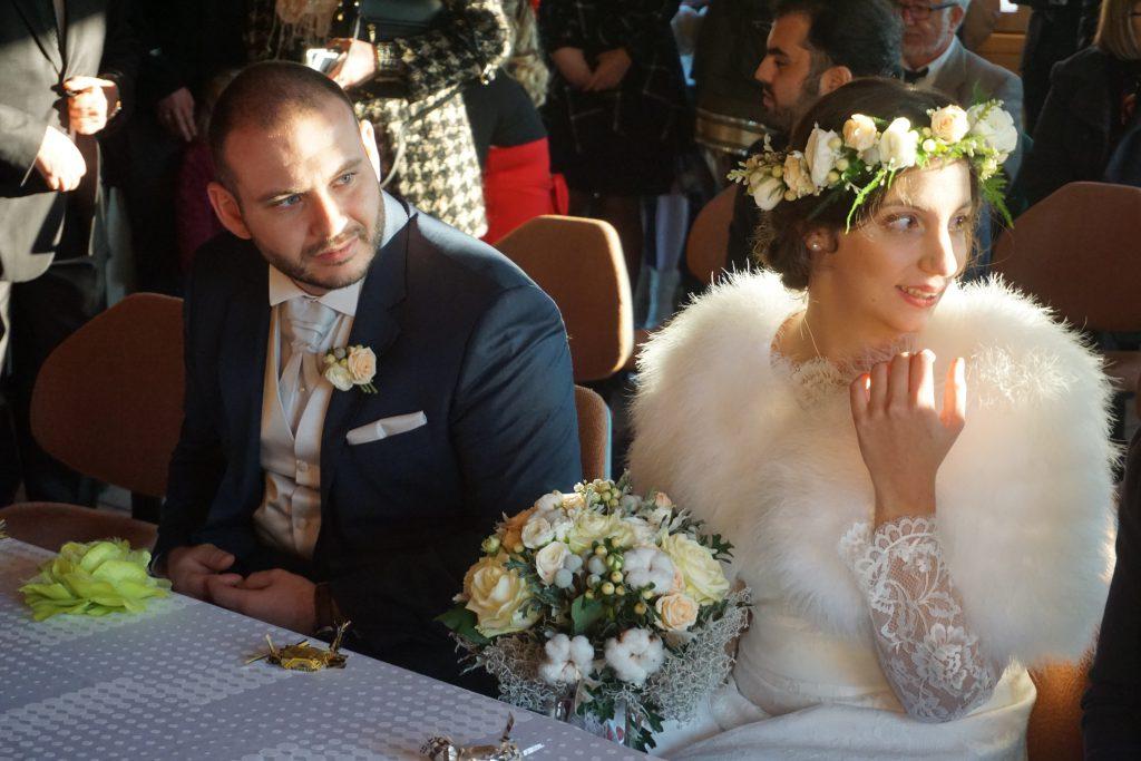 Mon mariage d'hiver à la lueur des bougies : notre cérémonie civile