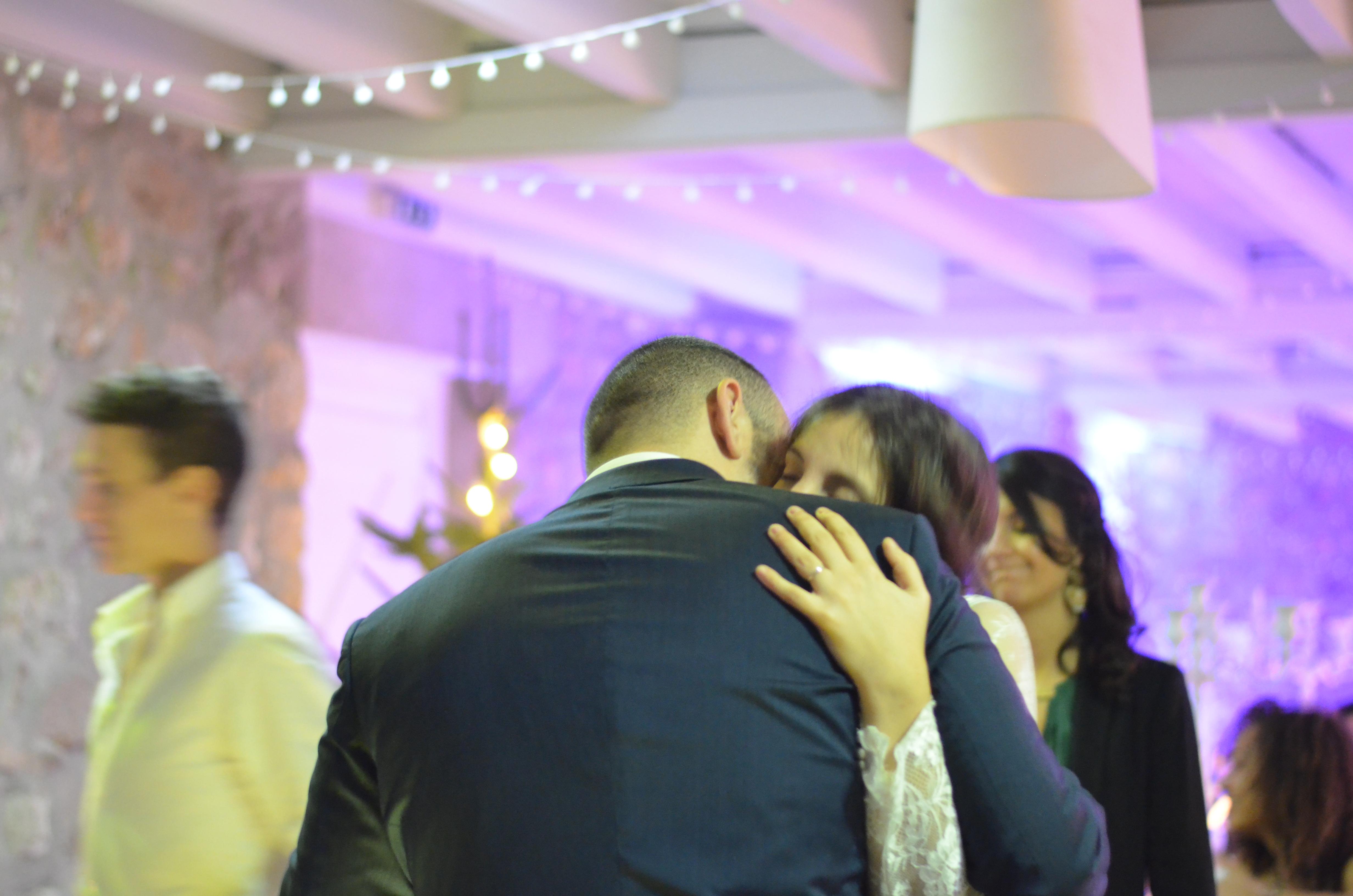 Mon mariage d'hiver à la lueur des bougies : la soirée