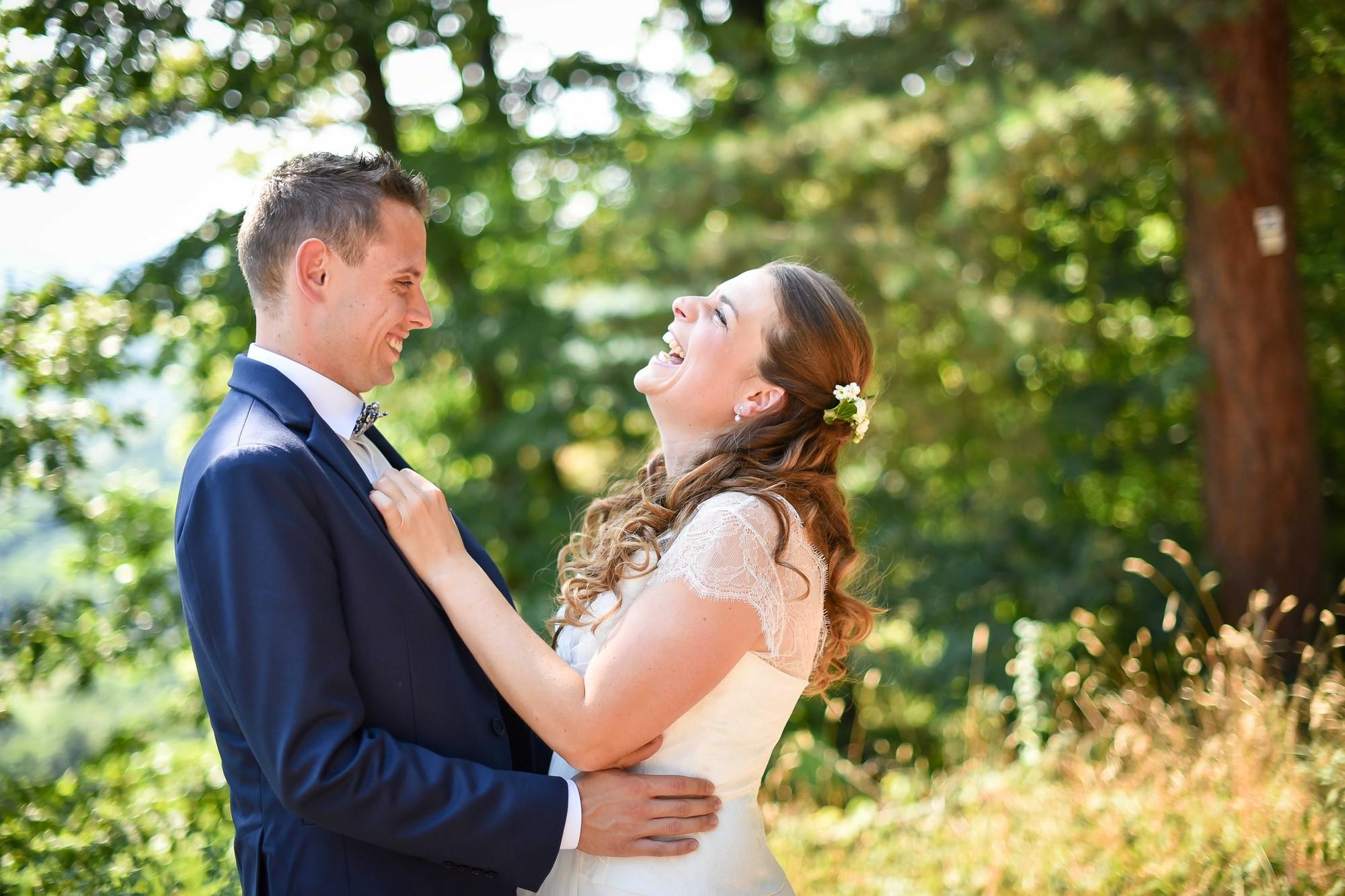 Mon mariage mélodieux et convivial, nos photos dans l'intimité de la forêt