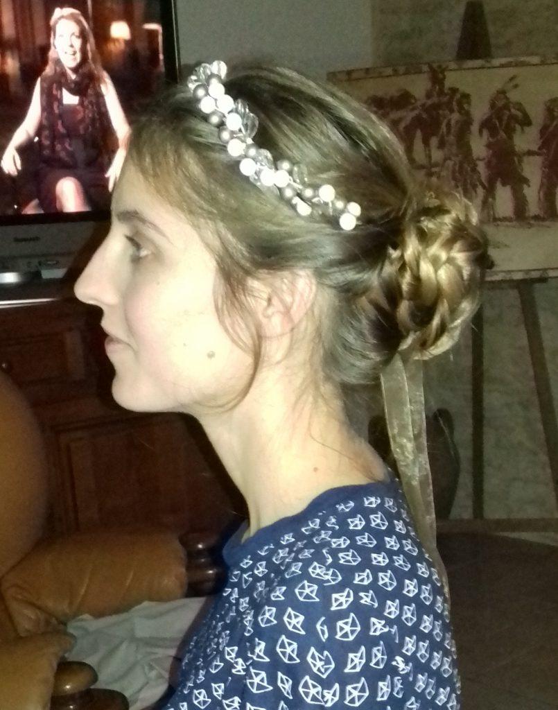 Une coiffure DIY tressée pour mon mariage