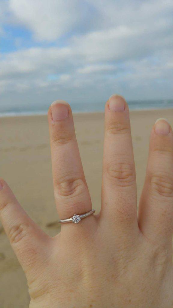 Demande en mariage Mlle Piglou