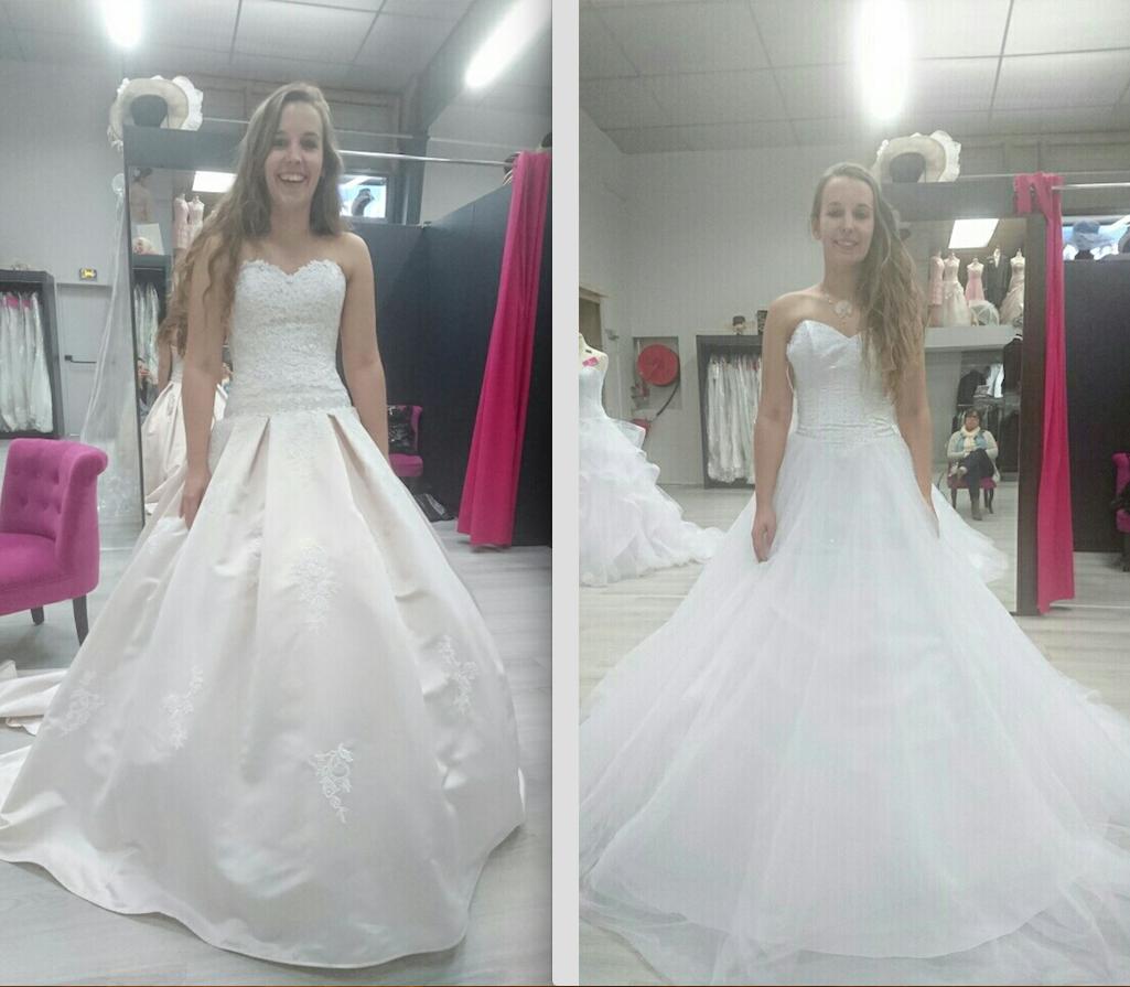 La recherche de la robe