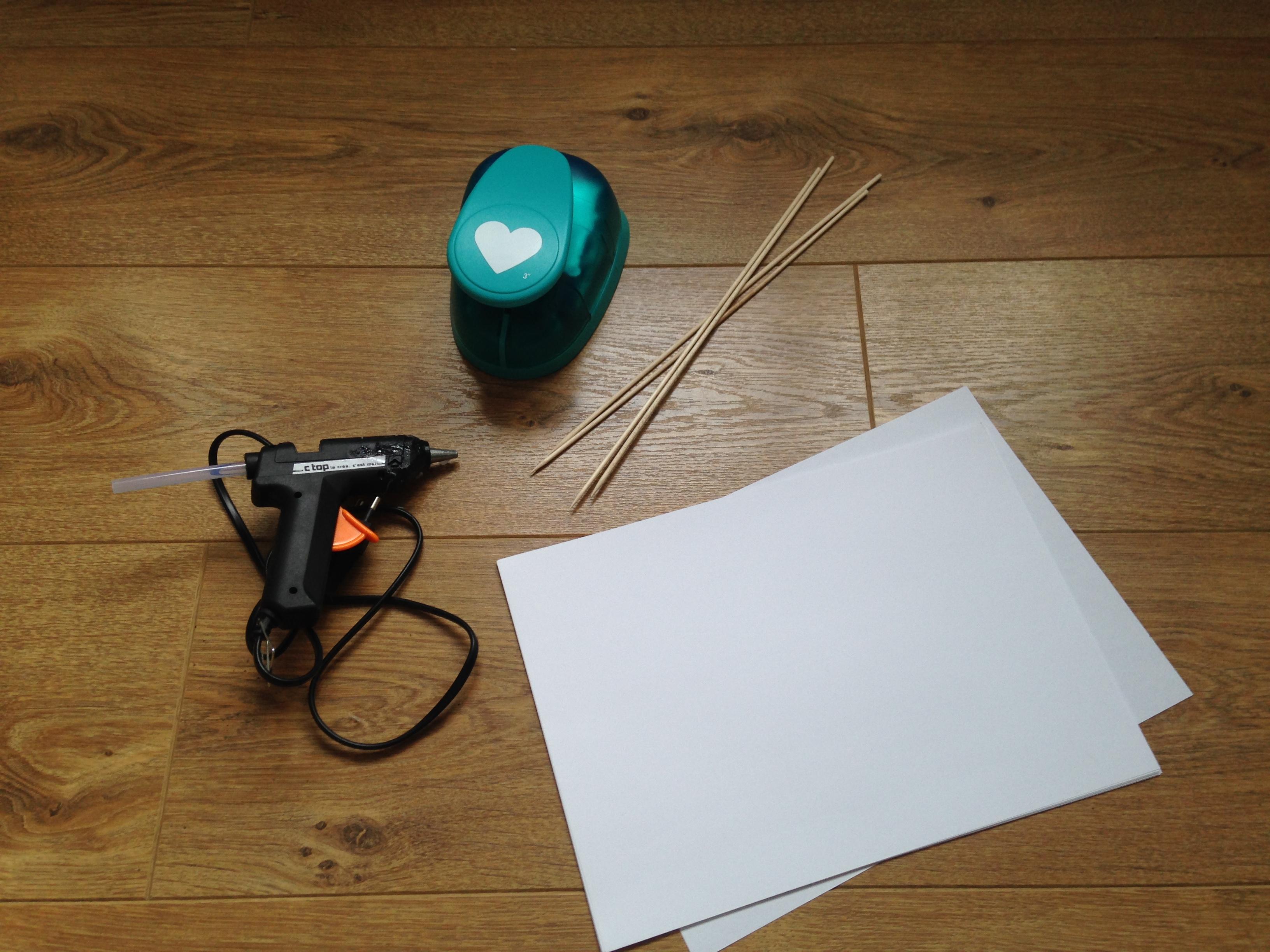 Tutoriel DIY : des cœurs sur pique
