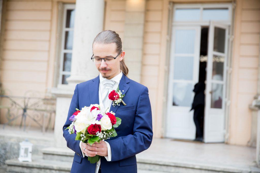 Découverte des mariés // Photo : Vincent Besson Photographie