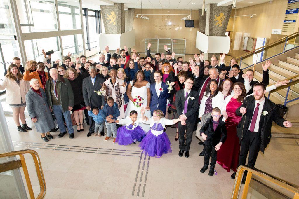 La cérémonie à la mairie // Photo : Vincent Besson Photographie