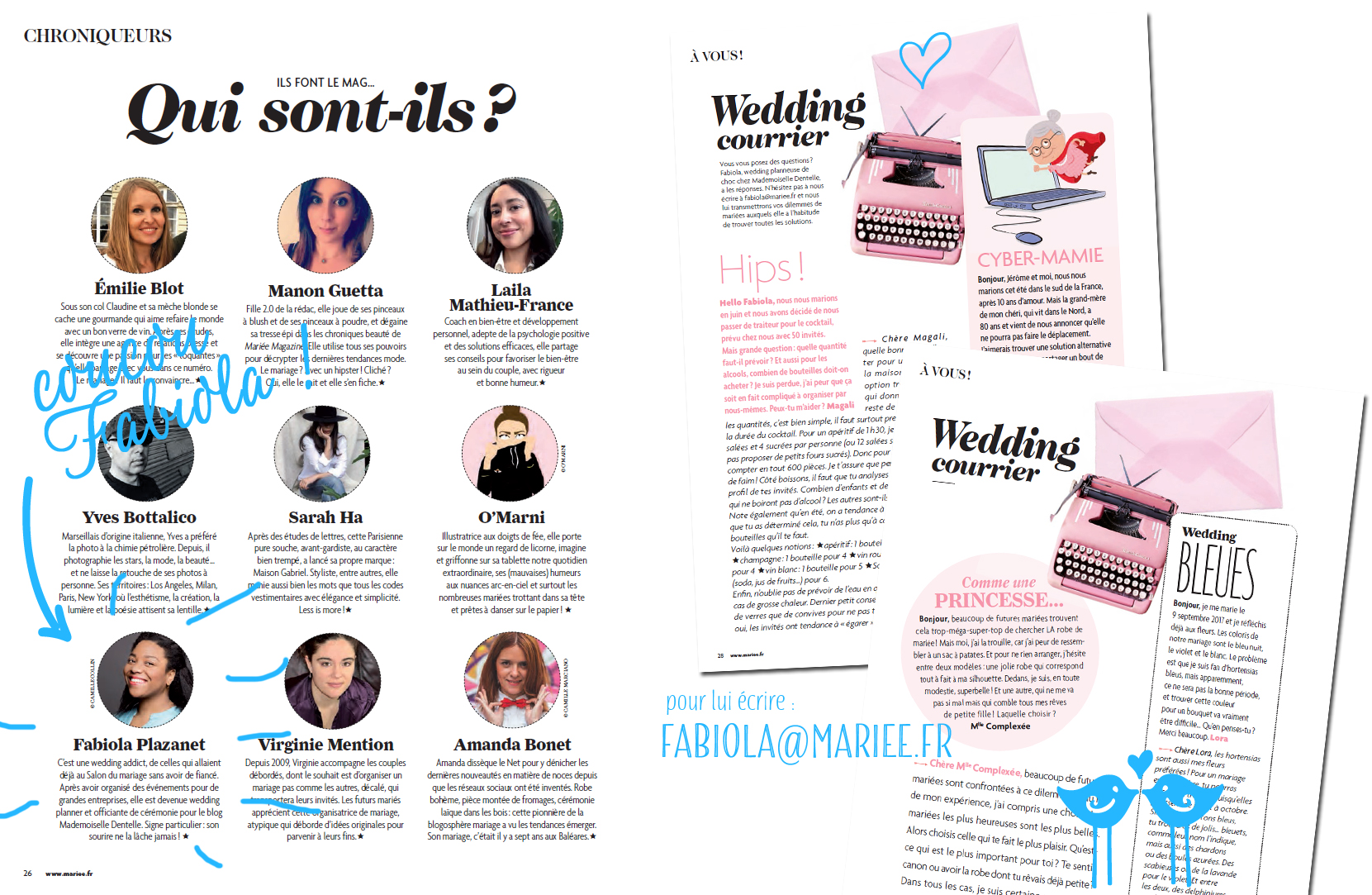 Pose tes questions à notre wedding planner !