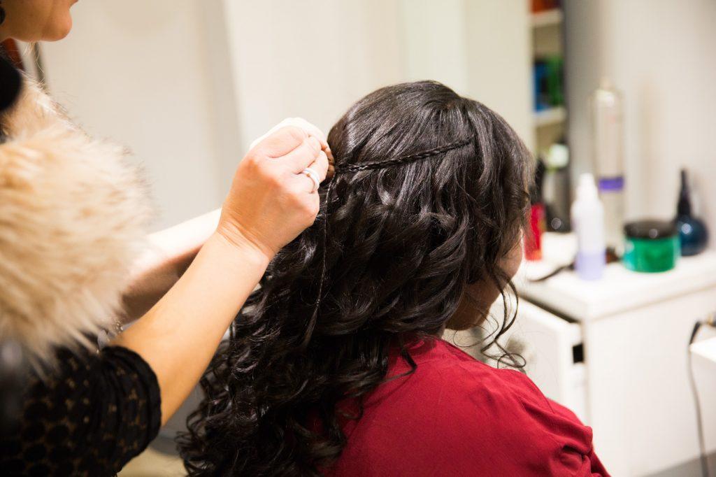 Les préparatifs de la mariée le jour J // Photo : Vincent Besson