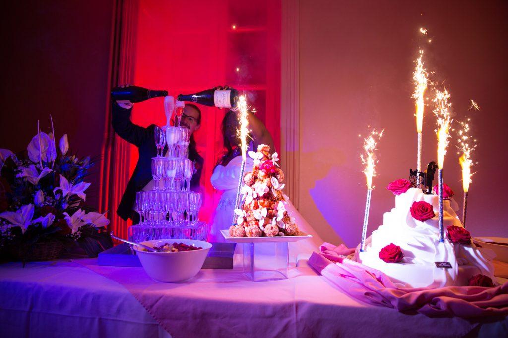 Notre fontaine à champagne // Photo : Vincent Besson