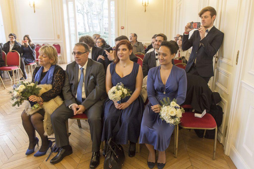 Cérémonie de mariage civile pleine d'émotion // Photo : Frank Guiraud