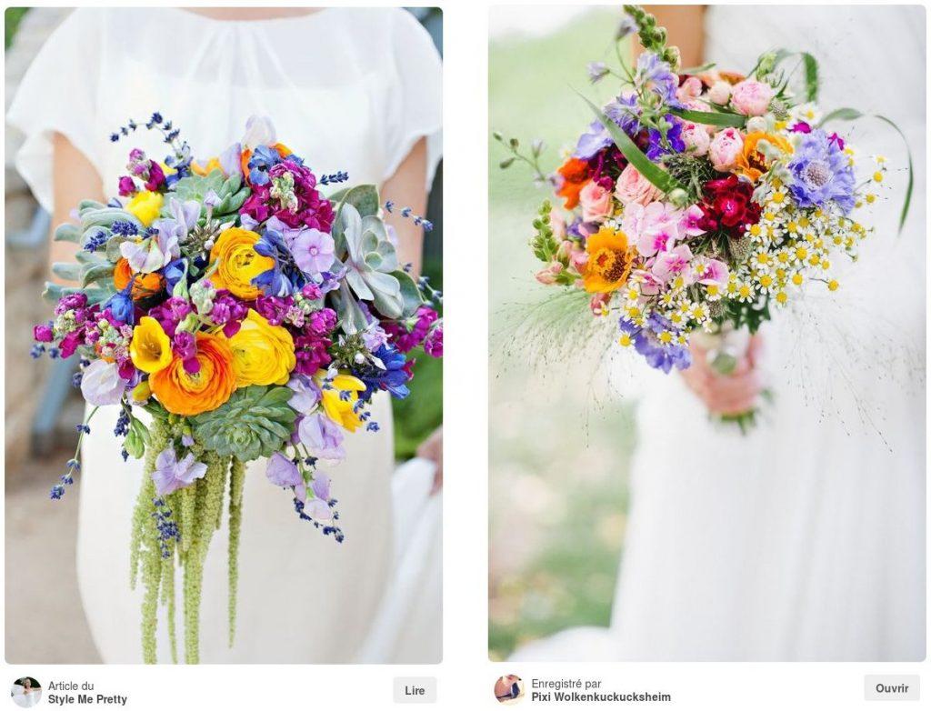 Choix fleuriste de mariage