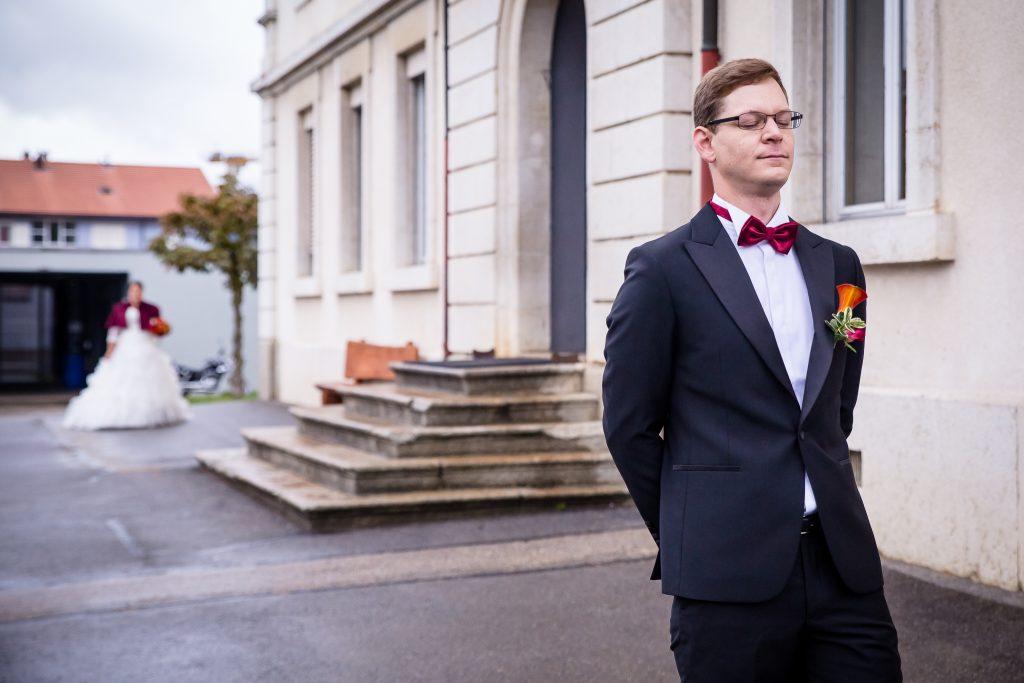 Découverte des mariés le jour du mariage ! // Photo Isabelle Chatellier Wedding
