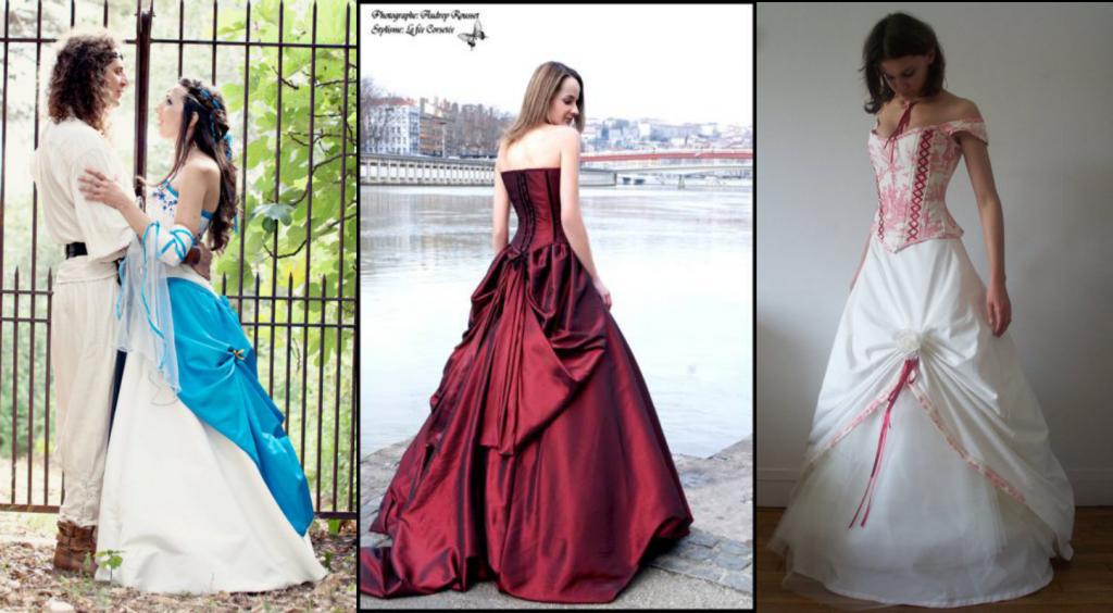La robe de mariée de mes rêves de petite fille...