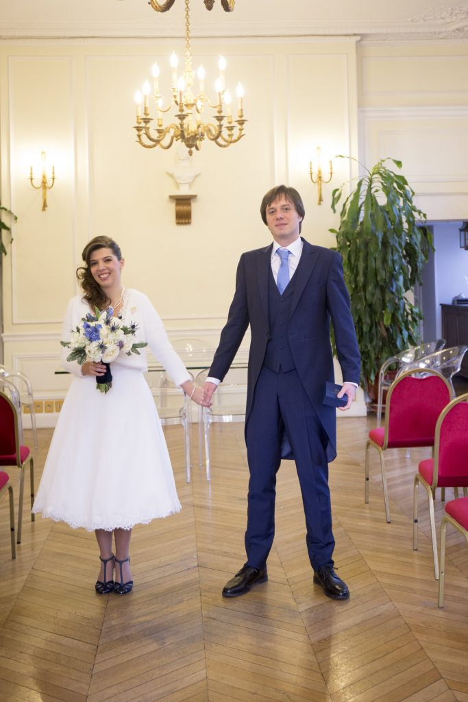 Mon mariage civil plein d'émotions // Photo : Frank Guiraud