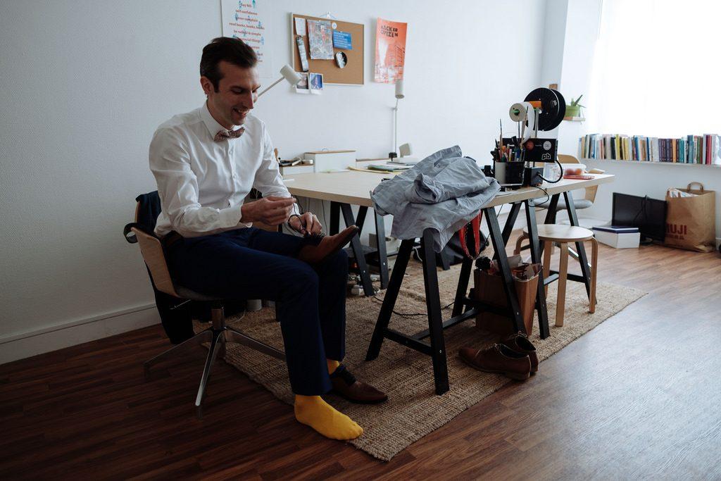 Les préparatifs du jour J // Photo : Nicolas Grout