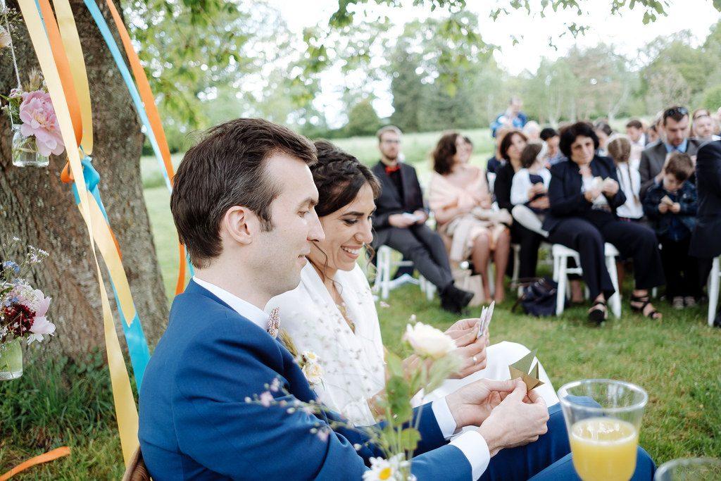 La cérémonie laïque de notre mariage // Photo : Nicolas Grout
