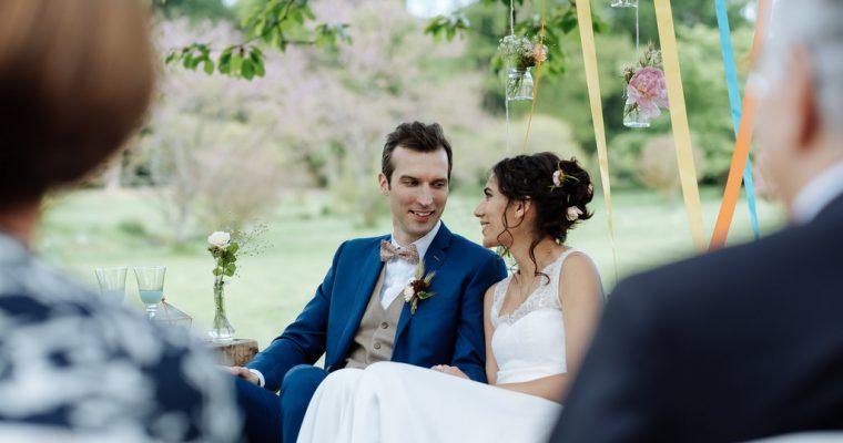 Mon mariage green et romantique : la cérémonie laïque