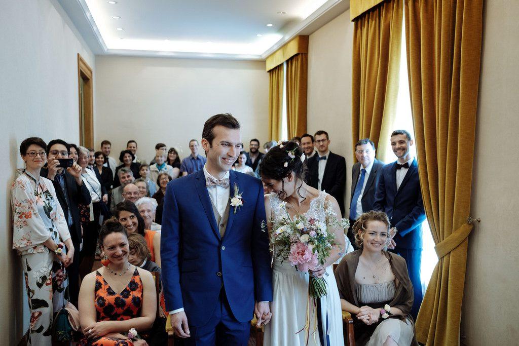 Notre cérémonie civile // Photo : Nicolas Grout