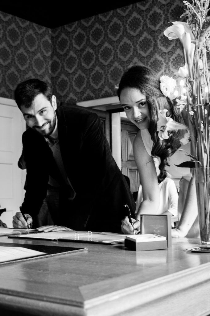 Mon mariage civil // Photo : Sylvain Frémon