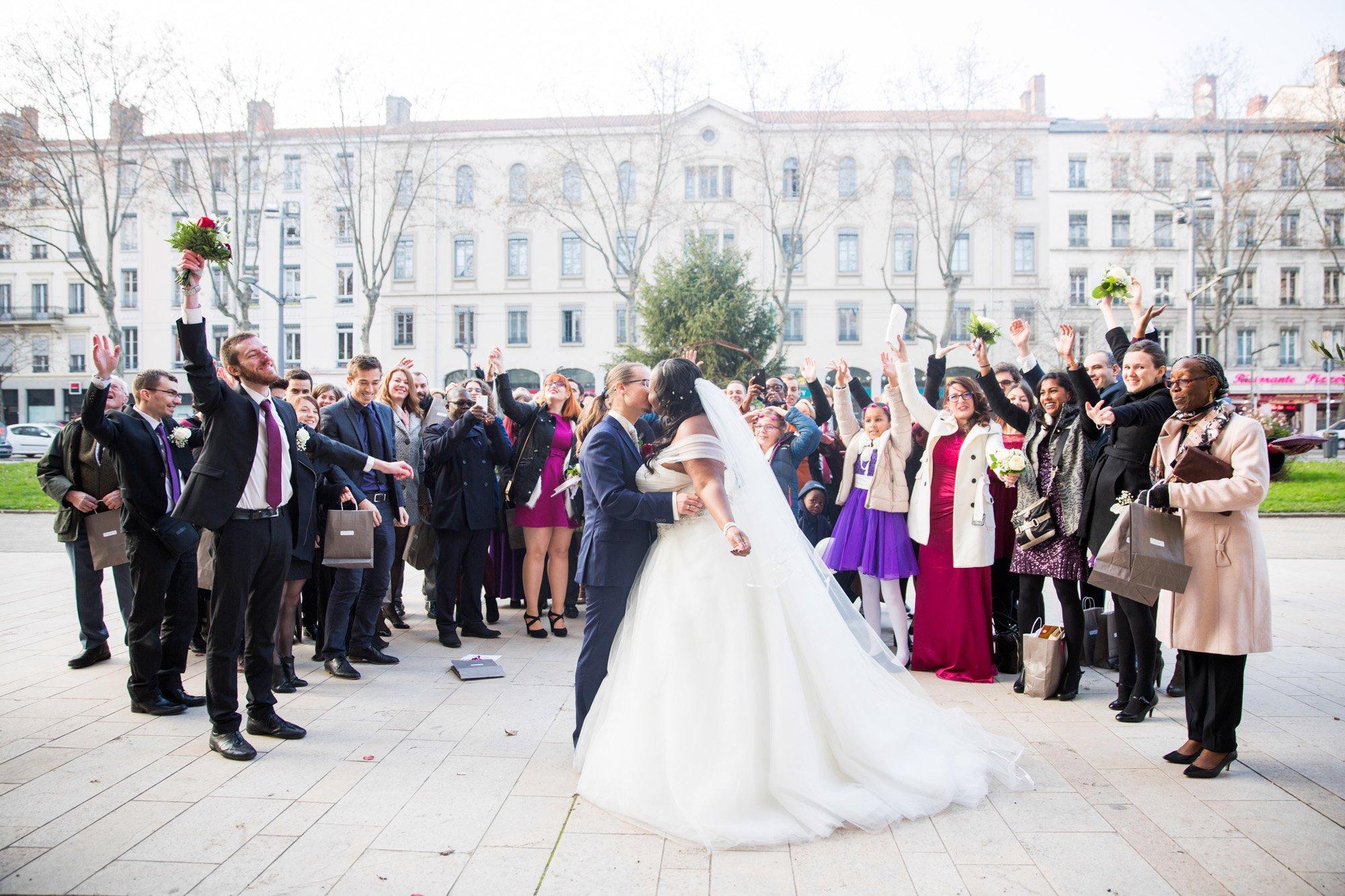 Être en paix avec la célébration de son mariage