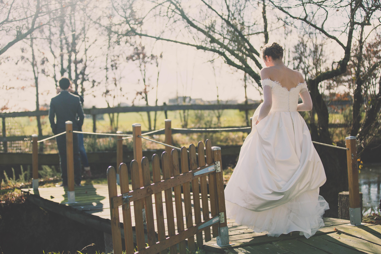 Mon mariage d'hiver tendre et magique : la découverte